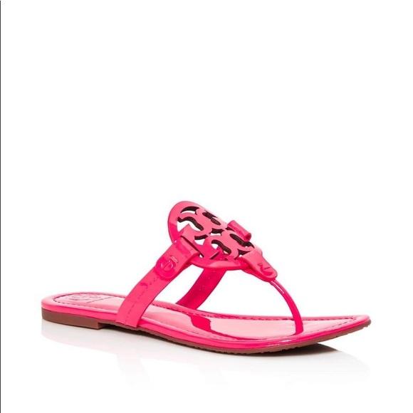 Tory Burch Shoes New Fluo Fuchsia Miller Sandals Poshmark